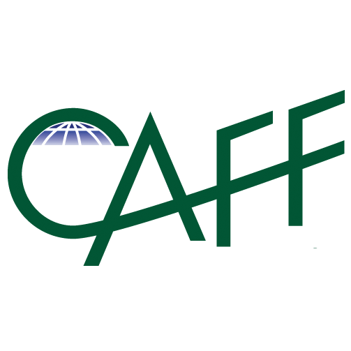 CAFF LOGO transparent GREEN Square