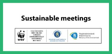 Sustainable meeting