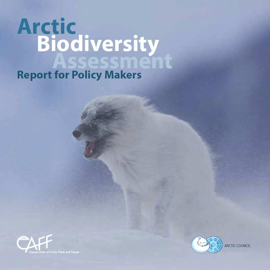 Download the Arctic Biodiversity Assessment: Report for Policy Makers