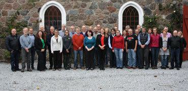 Attendees at a Freshwater meeting in Hvalso, Denmark. Photo: CAFF