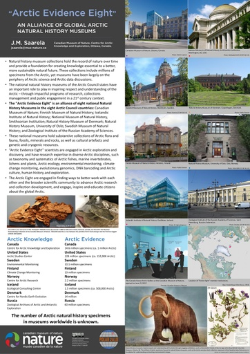 """""""Arctic Evidence Eight"""": An Alliance of Global Arctic Natural History Museums"""