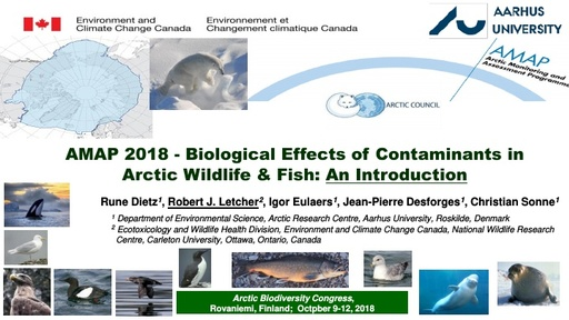 Biological Effects of Contaminants in Arctic Wildlife & Fish:Rune Dietz, Robert J. Letcher, Igor Eulaers, Jean-Pierre Desforges, Christian Sonne
